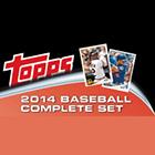 2014 Topps Baseball Complete Set - Hobby Edition