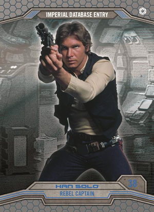 Rebel Training Chase Card 6 STAR DESTROYER Star Wars Perspectives UK Exclusive