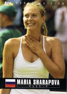 Maria Sharapova Tennis Cards, Rookie Cards and Autographed Memorabilia Guide 1