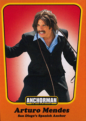Anchorman Trading Cards Included In Special Edition Blu Ray