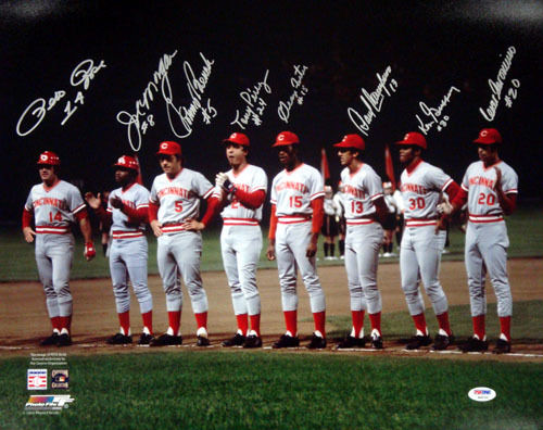 Big Red Machine Signed Photo