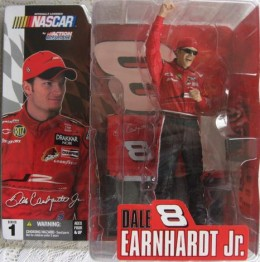 Dale Earnardt Jr McFarlane Series 1