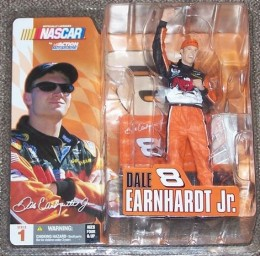 Dale Earnardt Jr McFarlane Series 1 Chase