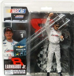 Dale Earnardt Jr McFarlane Series 1 Variant Tribute