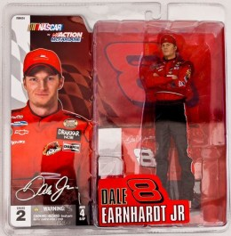 Dale Earnardt Jr McFarlane Series 2