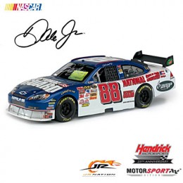 Dale Earnhardt Jr Signed Photo Car