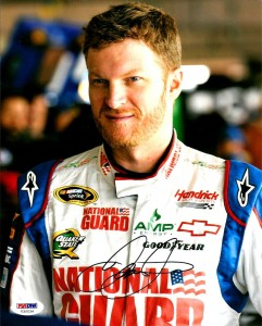 Dale Earnhardt Jr Signed Photo Driver