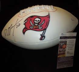 Doug Martin Signed Football