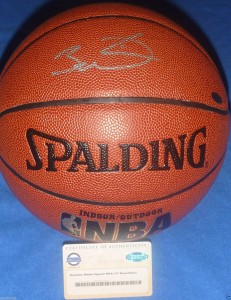 Dwyane Signed Basketball