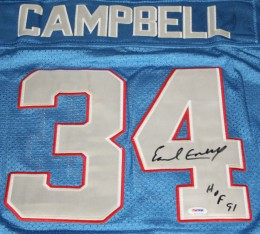 Earl Campbell Cards, Rookie Cards and Memorabilia Guide 22
