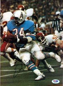 Earl Campbell Cards, Rookie Cards and Memorabilia Guide 24