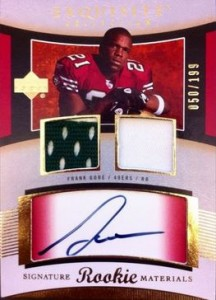 Frank Gore Rookie Cards and Autograph Memorabilia Guide 3