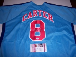 Gary Carter Signed Jersey