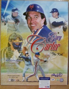 Gary Carter Signed Photo