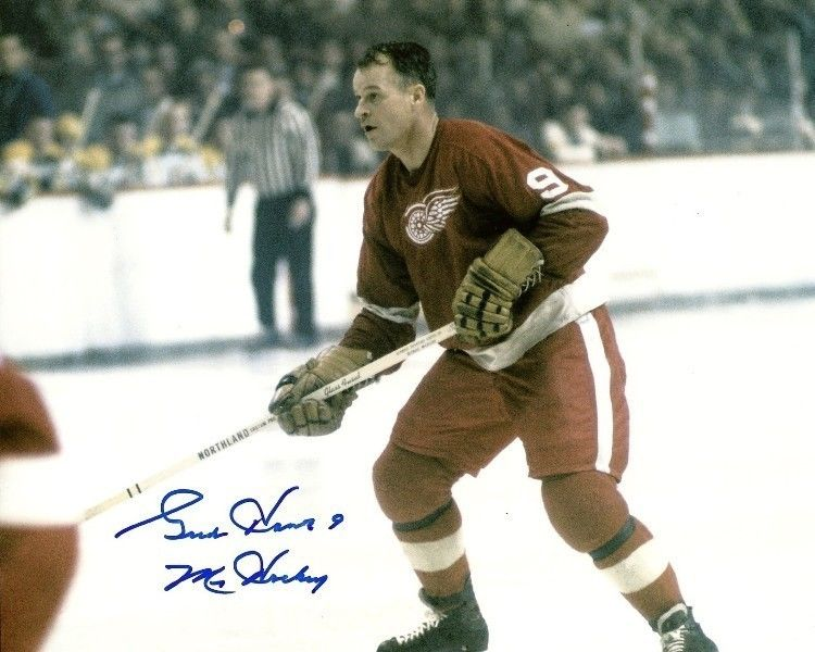 Gordie Howe Rookie Cards and Autographed Memorabilia Guide 27
