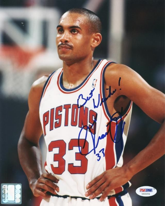 Grant Hill Signed Photo