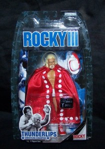 Holk Hogan as Thunder Lips Figure