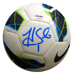 Hope Solo Signed Soccer Ball