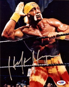 Hulk Hogan Signed Photo 2