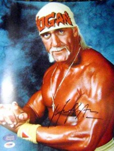 Hulk Hogan Signed Photo