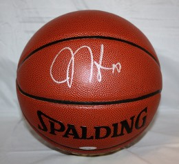 James Harden Signed Basketball