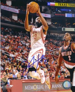 James Harden Signed Photo