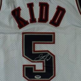 Jason Kidd Signed Jersey