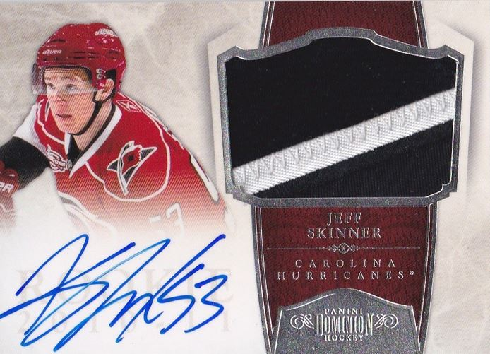 Jeff Skinner Cards, Rookie Cards Checklist and Autograph Memorabilia Guide 2