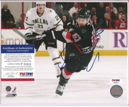 Jeff Skinner Signed Photo