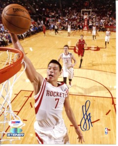 Jeremy Lin Signed Photo