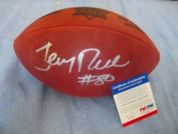 Jerry Rice Signed Football