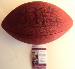 Jim Kelly Signed Football