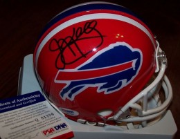 Jim Kelly Signed Helmet