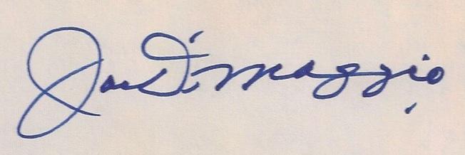 Joe DiMaggio Cards and Memorabilia Guide 21