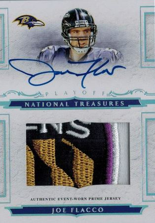 Joe Flacco Cards and Autographed Memorabilia Guide 2