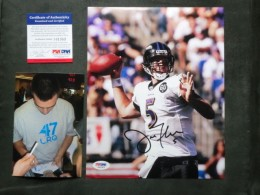 Joe Flacco Cards and Autographed Memorabilia Guide 45