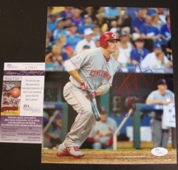 Joey Votto Rookie Cards and Autographed Memorabilia Guide 25