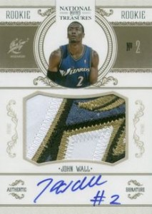 John Wall Cards, Rookie Cards and Autographed Memorabilia Guide 1