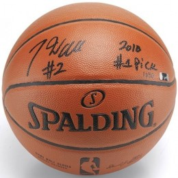 John Wall Signed Basketball