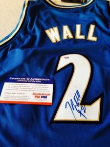 John Wall Signed Jersey