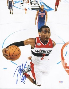 John Wall Signed Photo