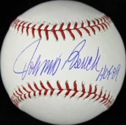 Johnny Bench Card and Memorabilia Guide 24