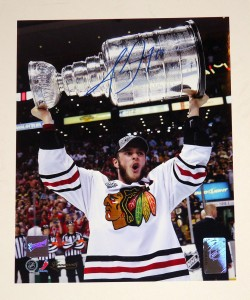 Jonathan Toews Signed Photo