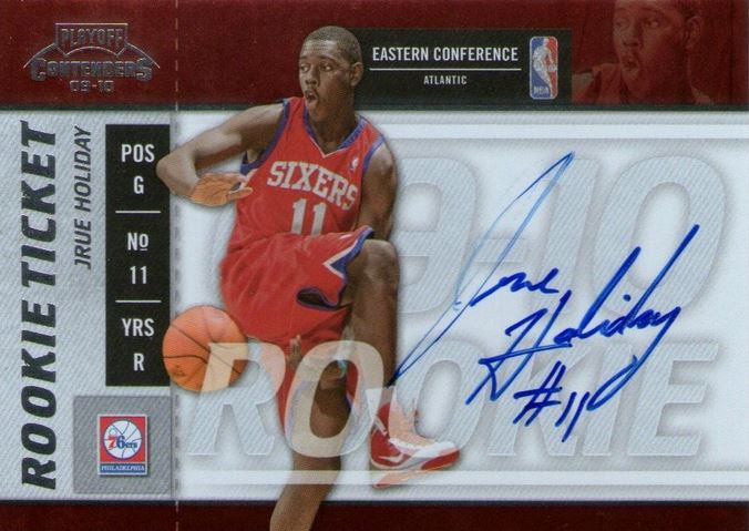 Jrue Holiday Rookie Cards and Autograph Memorabilia Guide 2