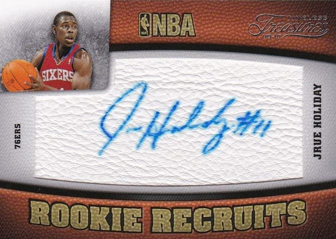 Jrue Holiday Timeless Treasures RC V1