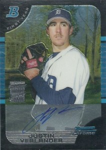Justin Verlander Cards, Rookie Cards and Autograph Memorabilia Guide 3