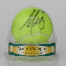 Maria Sharapova Signed Tennis Ball