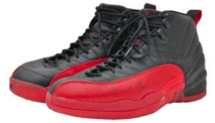 hot sale online 02e5b a75e3 Michael Jordan Flu Game Shoes Sell for  100K 1