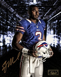 EJ Manuel Signs Exclusive Autographed Memorabilia Deal with Panini Authentic 1
