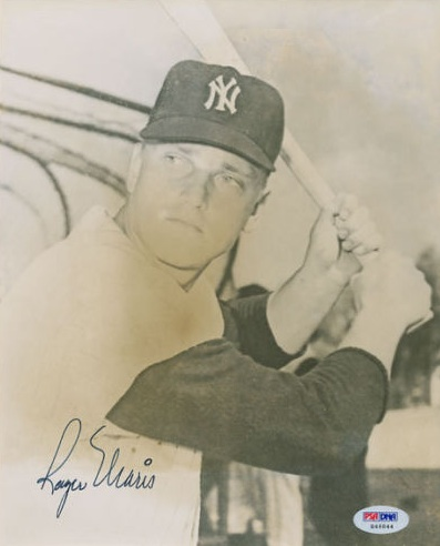 Roger Maris Cards and Autographed Memorabilia Guide 22